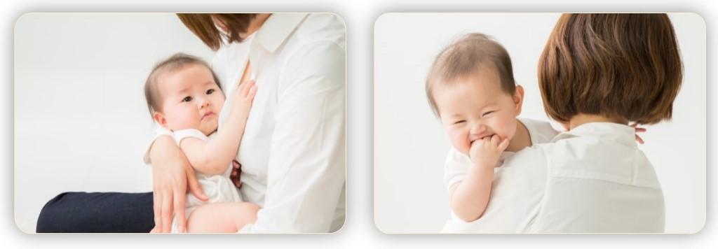 抱っこ。授乳。